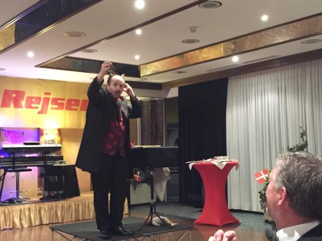 Tryllekunstner Gislev Rejser Fest i Goslar