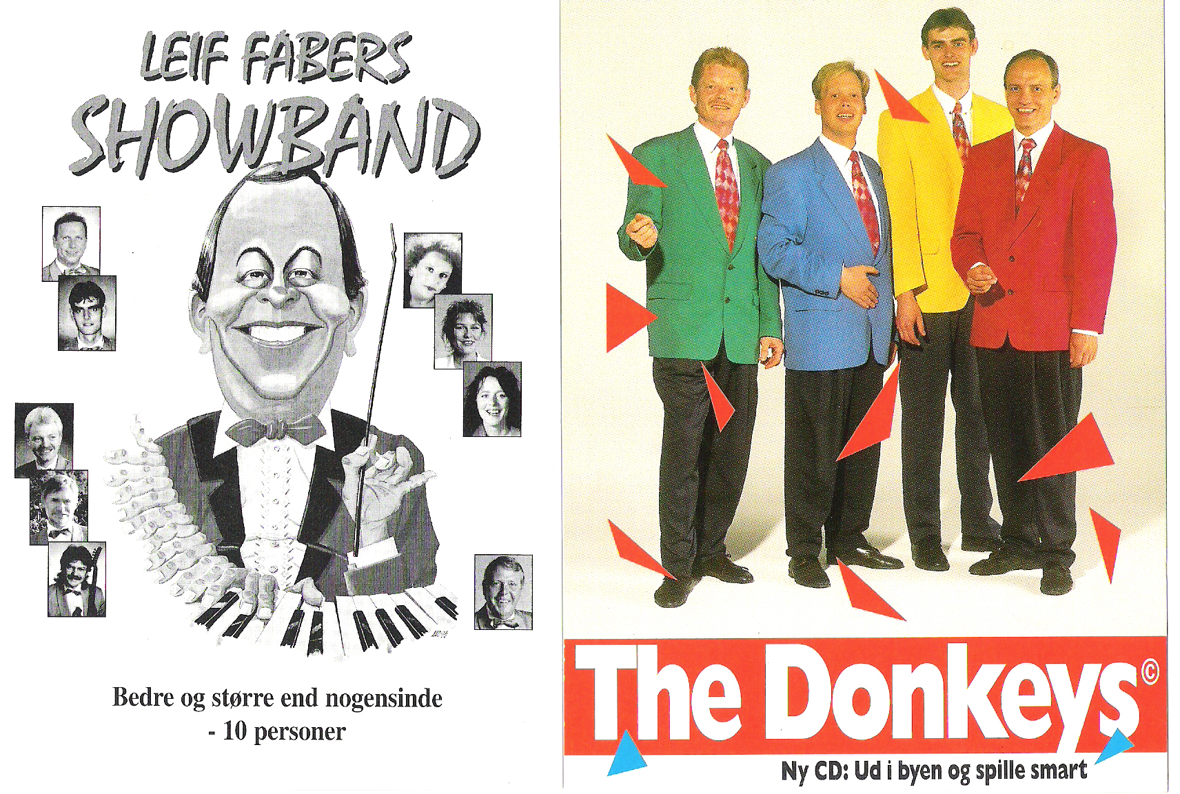 The Donkeys & Leif Fabers Showband
